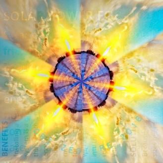 Solar Power Flower